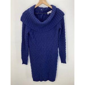 Anthropologie Long Sleeve Dress Blue Size XS